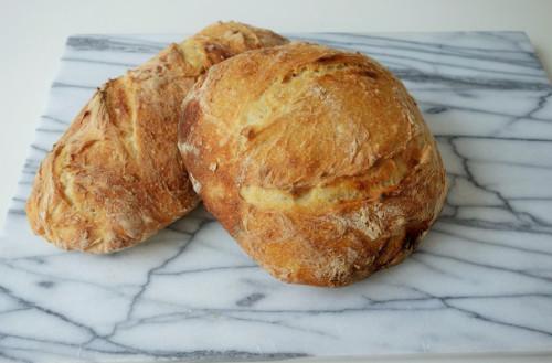 making bread napoli
