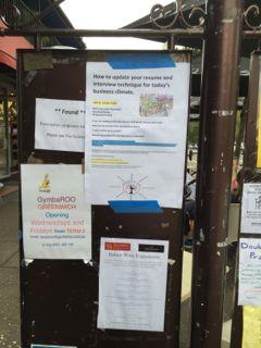 Greenwich Public Noticeboard