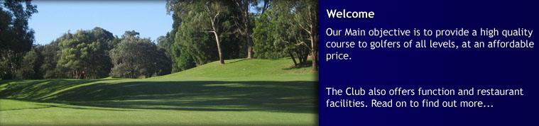 Lane Cove Golf course