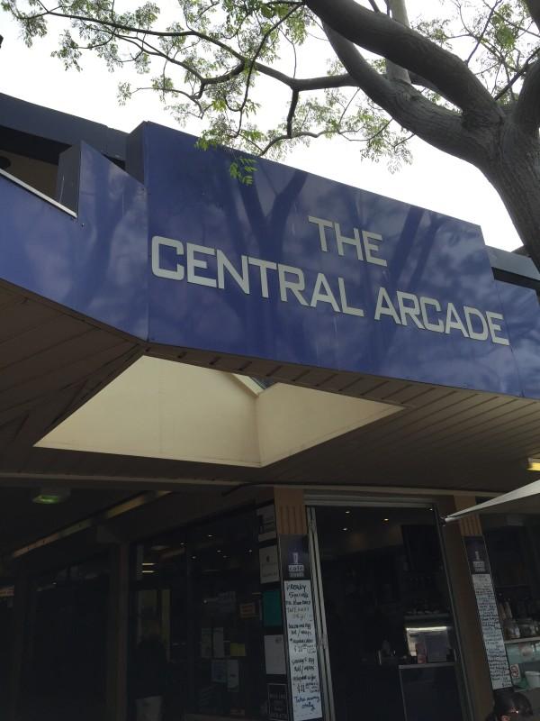 Central Arcade top