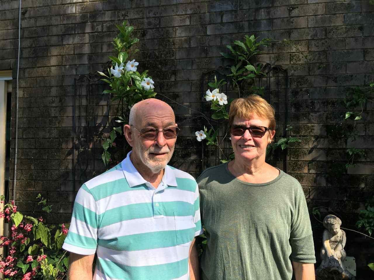 Keith and Maureen Lane Cove