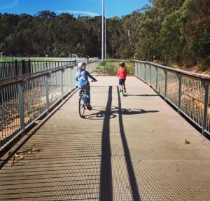bikes in blackman park