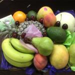lime leaf fruit basket