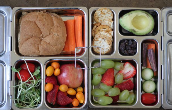 healthy lunch box 1