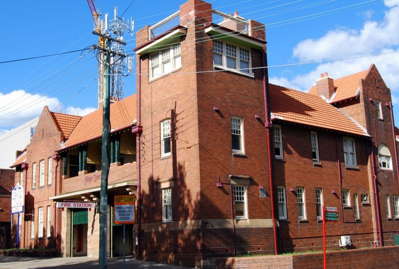 crows nest fire station