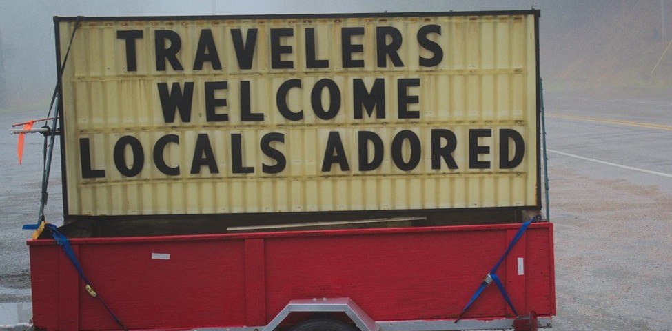travellers welcome