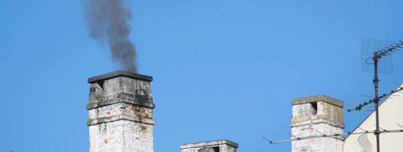 smokey chimeny