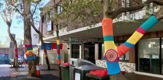 lane cove news yarn bomb
