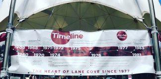 lane cove plaza 40th birthday