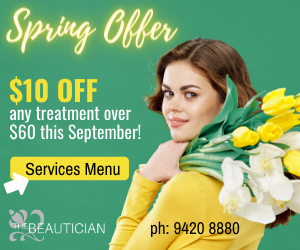 December Offer – The Beautician