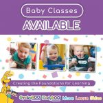 Infant and Baby classes from 6 weeks